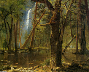 Albert Bierstadt - View in Yosemite Valley