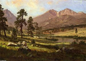 Albert Bierstadt - Long-s Peak, Estes Park, Colorado