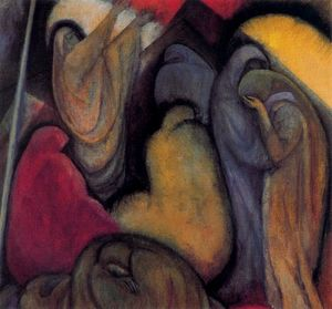 Albert Bloch - Lamentation
