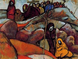 Albert Bloch - Procession with the Cross