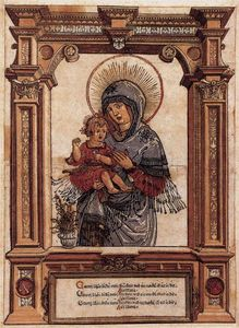 Albrecht Altdorfer - The Beautiful Virgin of Regensburg