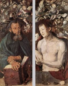 Order Museum Quality Reproductions : The Dresden Altarpiece (side wings), 1496 by Albrecht Durer (1471-1528, Italy) | WahooArt.com
