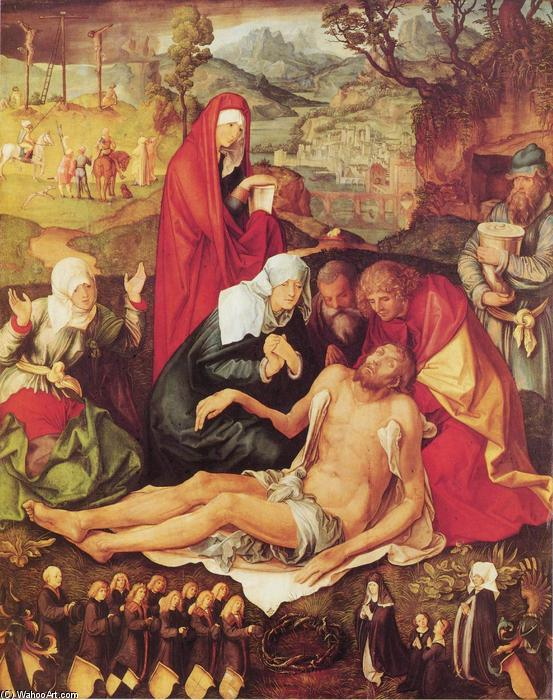 Lamentation of Christ, 1498 by Albrecht Durer (1471-1528, Italy)
