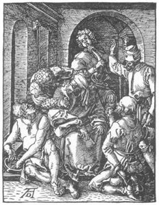 Albrecht Durer - The Mocking of Christ