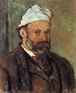 Paul Cezanne - Self-portrait with white turbaned