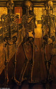 Paul Delvaux - The Natural History Museum