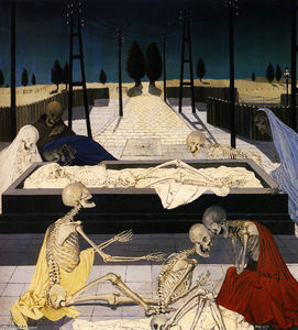 Paul Delvaux - The Focus Tombs