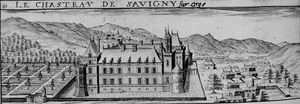 Order Art Reproductions | Chateau De Savigny-sur-orge by Claude Chastillon (1559-1616, France) | WahooArt.com