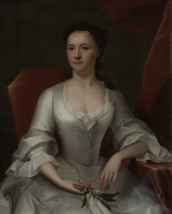 Mary Alford, Nee Standish by Joseph Highmore (1692-1780, United Kingdom) | Oil Painting | WahooArt.com