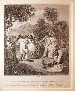Agostino Brunias - A Negro Festival Drawn From Nature In The Island Of St Vincent