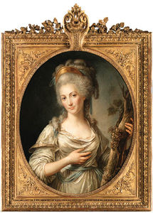 Antoine Vestier Avallon - Portrait Of A Lady -