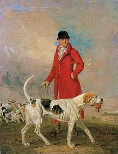 Benjamin Marshall - Thomas Hilton And His Hound 'glory'