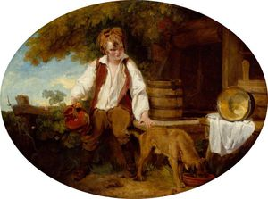 Francis Wheatley - A Peasant Boy