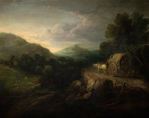 Gainsborough Dupont - The Travellers