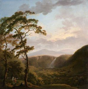 George Barret, Senior - Waterfall At Powerscourt