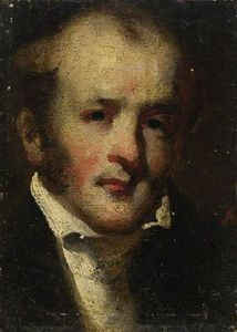 George Chinnery - Head And Shoulders Of A Man