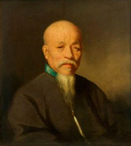 George Chinnery - Portrait Of A Chinese Mandarin