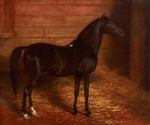 Jacques Laurent Agasse - Arab Horse, The Second Sire