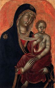 Niccolò Di Segna - Virgin And Child