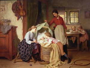 Theodore Gerard - The Newborn Child