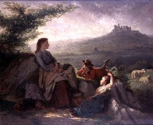 Theodore Gerard - The Shepherd-s Family
