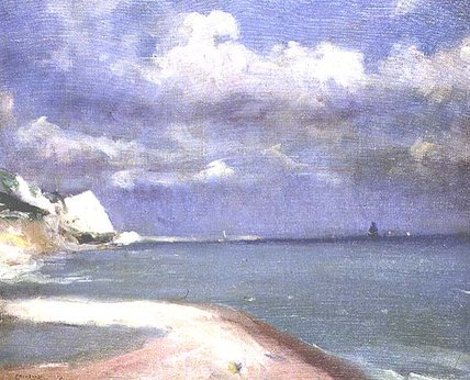 Approaching Storm by Théodore Casimir Roussel (1847-1926, France)