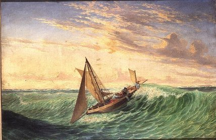 Messenger's Long Boat by Thomas Baines (1820-1875, United Kingdom)