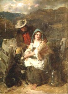Thomas Faed - Too Young To Be Married