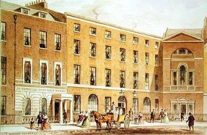 Thomas Hosmer Shepherd - East Side Of Soho Square, Looking South On