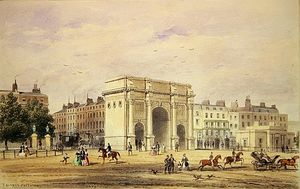 Thomas Hosmer Shepherd - The Marble Arch