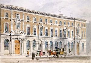 Thomas Hosmer Shepherd - The New Building Of Merchant Taylors And Hall