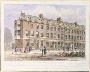 Thomas Hosmer Shepherd - View Of Fludyer Street Looking Towards Parliament Street