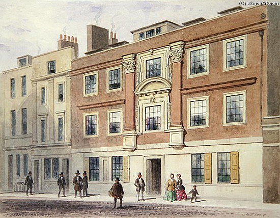 Winchester Street by Thomas Hosmer Shepherd (1792-1864, United Kingdom) | WahooArt.com