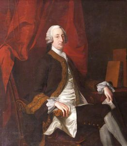 Order Famous Paintings Reproductions : Lieutenant General Sir Thomas Drury Of Overstone by Thomas Hudson (1701-1779, United Kingdom) | WahooArt.com