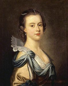 Thomas Hudson - Portrait Of An Unidentified Young Lady