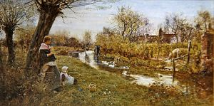Thomas James Lloyd - Watching The Ducks