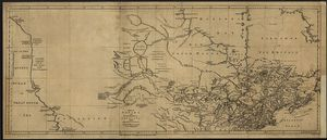 Thomas Jefferys - A Map Of Canada And The North Part Of Louisiana With The Adjacent Countrys