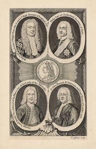 Thomas Jefferys - George Ii And His Officials