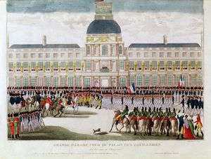 Thomas Naudet - Parade In The Courtyard Of The Palais Des Tuileries