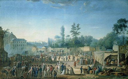 View Of The Tuileries _2 by Thomas Naudet (1773-1810)