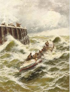 Thomas Rose Miles - Dover Lifeboat- The Rescue
