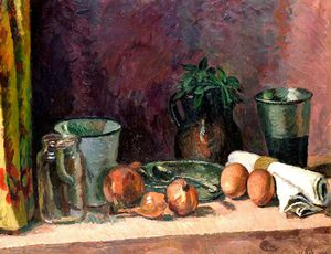 Vanessa Bell - Still Life In The Kitchen