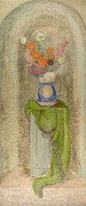 Vanessa Bell - Vase And Flowers
