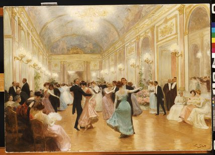 The Ball by Victor Gabriel Gilbert (1847-1933, France) | Museum Quality Reproductions | WahooArt.com
