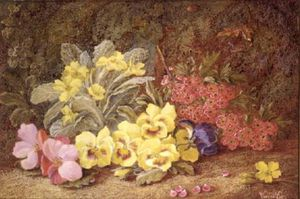Vincent Clare - Roses And Primroses