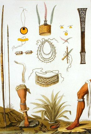 Objects Belonging To Indians by Vittorio Raineri (1797-1869, Italy)