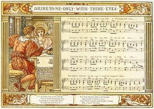 Walter Crane - Drink To Me Only With Thine Eyes