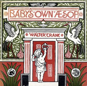 Walter Crane - Front Cover Of -baby-s Own Aesop-