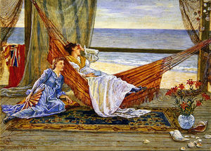 Walter Crane - In The Beach House