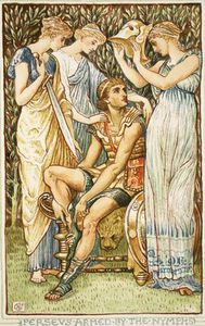 Walter Crane - Perseus Armed By The Nymphs